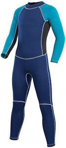 Kids Wetsuit, 2.5mm Neoprene Thermal Swimsuit, Full Wetsuit (Size:2)