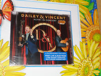 DAILEY & VINCENT ALIVE! IN CONCERT CD   - NEW & SEALED