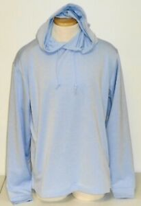 NWT Footjoy Lightweight Hoodie Sweatshirt, Large, Heather Sky Blue, 25262