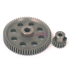 RC 1/10 HSP 11184 & 11119 Differential Steel Metal Main Gear 64T Motor Gear 17T