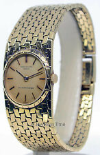 Patek Philippe Ladies Vintage 18K Yellow Gold Windup Watch 3310J Double Signed!
