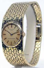 Patek Philippe Ladies Vintage 18K Yellow Gold Windup Watch 3310J Double Signed!