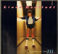 LINDA RONSTADT living in the usa 6E-155 usa asylum 1978 LP PS EX/EX with inner