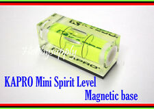 1 x KAPRO #243 Mini Spirit 40mm size Level Magnetic base Picture Hanging