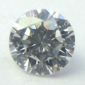 2.5mm Weiß Kalibriert Brilliant Voll Schliff Rund Poliert Natürlich Diamanten