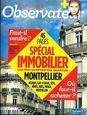 LE NOUVEL OBSERVATEUR N°2546 22 AOUT 2013  SPECIAL IMMOBILIER/ MARINE VACTH