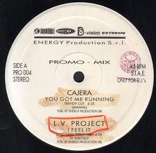 VARIOUS (CAJERA / L.V. PROJECT / DREAMER G / JACK & JILL) - Promo Mix 4