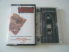 WOLFSBANE ALL HELL'S BREAKING LOOSE AT LITTLE KATHY WILSON'S PLACE CASSETTE TAPE