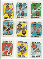 1971 FOOTBALL GAME CARDS LOT OF 26 NAMATH, STARR, GABRIEL ------------------