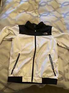 north face waterproof jacket large Kids With Concealable Hood