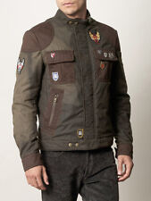 Alexander McQueen  McQ Motorbike Jacket military green Us size 40 UK 50