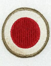 """Army Patch: 37th Infantry Division - WWII original w/OD border & """"green"""" back"""