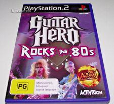 Guitar Hero Rocks the 80s PS2 PAL *No Manual*