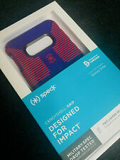 Speck Candyshell Grip Case For Samsung Galaxy S10e -Ultraviolet Purple/Ruby Red