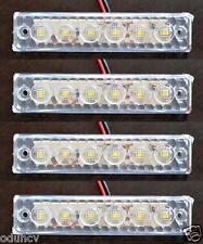 4 pièces 24V SMD LED AVANT BLANC Feux de position pour DAF MAN VOLVO IVECO