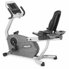 Nearly NEW Precor 846i Experience Line Upright Bike (Commercial Gym Equipment)