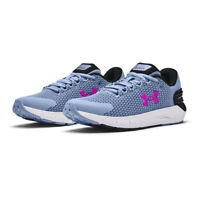 Under Armour Womens Charged Rogue 2.5 Running Shoes Trainers Sneakers Blue