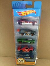 HOT WHEELS DIECAST - 50th Anniversary Track Stars - 5 Pack - Combined Postage