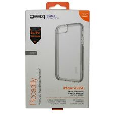 Gear 4 Piccadilly Case pour iPhone 5/5 S & SE avec D30 Impact Protection-Gris