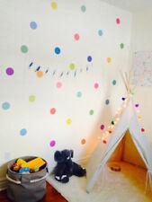 Polka Dot Circle Spot Wall Sticker Kid Decal Art Nursery Bedroom Vinyl Decor