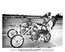 EASY RIDER great still cast on MOTORCYCLES - (f151)