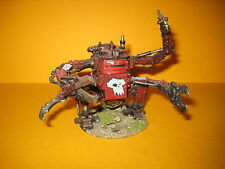 Warhammer 40k - Orks - well painted Deff Dread - gut bemalter Gargbot