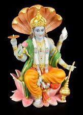 Vishnu FIGURA DE COLORES - Hindu divinidad buda azul