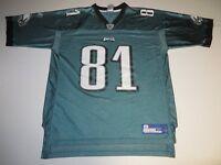 NFL Football Vintage Philadelphia Eagles Terrell Owens #81 Jersey XL Reebok RBK