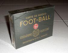 Carte da giuoco FOOT-BALL Creazione Bertino 1947 Calcio football Tarot Cards 1