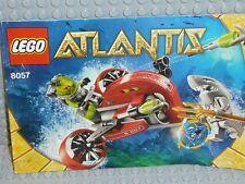 LEGO® Atlantis Bauanleitung 8057 Wreck Raider instruction BA ungelocht