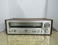 1980's Technics Model SA-404 FM/AM Stereo Receiver For Parts or Repairs