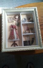 015 Arister Shadow Box Dress Closet vintage Womens Bedroom Items Umbrella