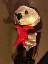 Wildlife Artists Plush Otter Holding A Starfish 2002 10""