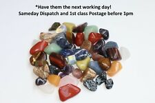 Healing Crystal Gemstones 16-25mm Reiki Chakra buy 4 get 2 FREE Sameday Dispatch