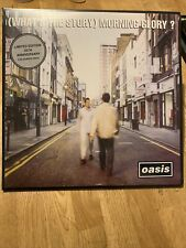 Oasis What's The Story Morning Glory Sealed 25th Anniv SILVER COLOURED Vinyl LP