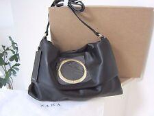 New Zara 3 Way BLACK Convertible Cross Body Shoulder Bag Clutch Tote Purse