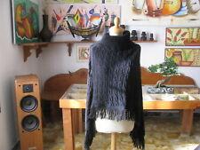 SCIALLE  Donna  collo alto , colore nero , taglia M -  Made in Italy