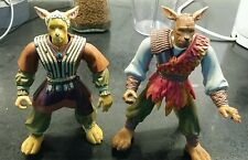 "Warriors of virtue action figure bundle - 1996-rare - 6"" x 2 figures collectables"