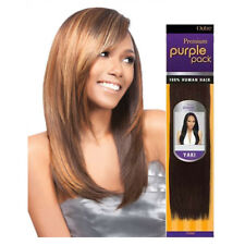 """Outre Purple Pack Yaki 100% Human Hair Weaving Extension Yaky Straight 10""""- 24"""""""