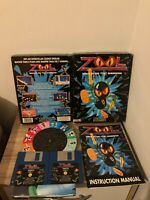 ZOOL COMMODORE AMIGA EXCELLENT CONDITION BY GREMLIN COMPLETE WITH POSTER
