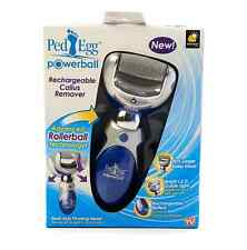 Ped Egg Powerball Rechargeable Callus Remover Pedicure Hard Skin Foot Feet Care