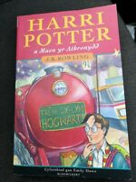 Harry Potter and the Philosopher's Stone 1st Print WELSH Paperback Book...