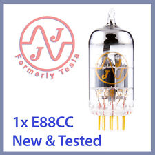 1x JJ Tesla 6922 / E88CC Gold Pin Vacuum Tube TESTED