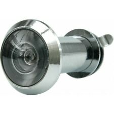 Türspion Spion Sichtschutz Türsicherung 35-50mm Sichtwinkel 200° silber