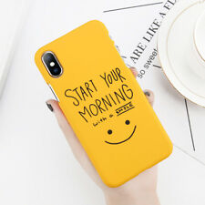 For iPhone X iPhone 6s 6 7 8 Plus Case Cute Letter Hard PC Phone Case Cover Skin