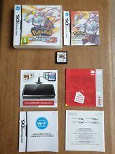 NINTENDO DS NDS 3DS - Boite + Notice + Cartouche - Pokémon version Blanche 2 FRA