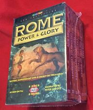 Rome: Power & Glory DVD 2009 6 Disc Box Set! Brand New! Narrated by Peter Coyote