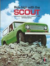 Truck Brochure - IH International - Scout - Ride High - c1969 (T2734)