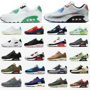 90 Men and women Running Shoes  Fashion Mens Sneakers Sports Trainer Cushion 90s