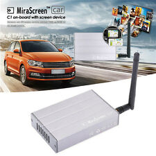 MiraScreen C1 Car WiFi Display Dongle WiFi Mirror Box Airplay Miracast DLNA GPS